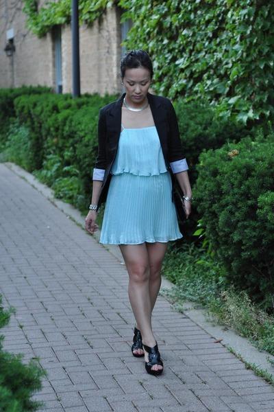 Aquamarine Forever 21 Dresses Black Open Toe Sandal Madden Girl