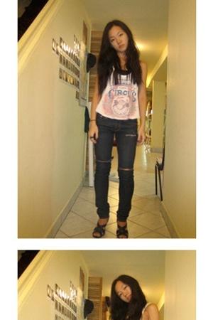 Alexander McQueen - H&M jeans