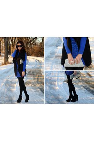 merona sweater - Carlos Santana heels - Mossimo vest