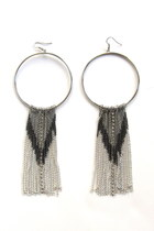 Tribal-hoop-earrings