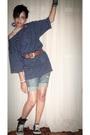 Blouse-accessories-belt-shorts