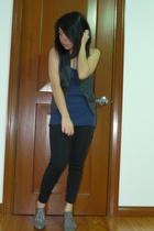 F&H vest - top - Fiorucci shoes -