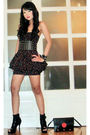 Glitterati-dress-glitterati-belt-online-shoes-louis-vuitton-purse-bracel