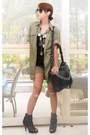 Dark-gray-mesh-with-studs-online-boots-army-green-zara-coat-army-green-mango