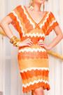Carrot-orange-zara-dress-gold-hobo-gucci-bag-gold-glitter-pumps-michael-anto