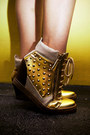 Gold-s-h-sneakers