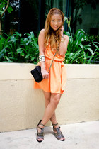 orange The Urban Hour dress