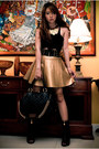 Gold-frou-frou-purse-black-miss-sixty-boots-black-marc-jacobs-bag