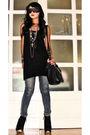 Black-zara-blazer-blue-mango-jeans-black-topshop-boots-black-online-purse-