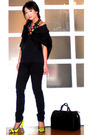 Black-tyler-coat-black-mango-top-black-zara-pants-yellow-miss-sixty-shoes-