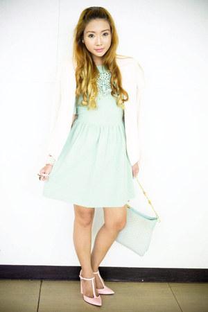 light blue Gucci bag