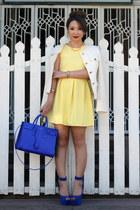 blue sac de jour Yves Saint Laurent bag