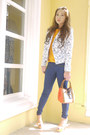 Blue-zara-jeans-white-zara-blazer-orange-zara-shirt-camel-lancel-bag