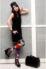 Black-topshop-top-purple-love-vintage-leggings-black-soule-phenomenon-shoes-