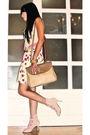 Pink-topshop-top-beige-mango-vest-yellow-glitterati-skirt-beige-renegade-f