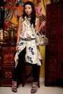 Beige-mango-vest-white-mango-dress-black-zara-leggings-blue-online-shoes-