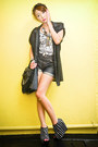 Black-fringed-random-purse-navy-studded-denim-glitterati-shorts-black-zara-w