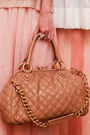 Light-pink-knit-two-tone-forever-21-sweater-nude-stam-marc-jacobs-bag
