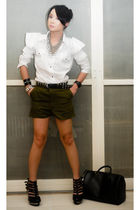 green my brothers shorts - black Soule Phenomenon shoes