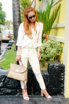camel Nina Ricci bag
