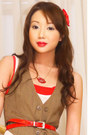 Ivory-topshop-dress-red-louis-vuitton-bag-light-brown-zara-vest-red-vintag