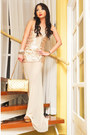 Off-white-glitterati-dress-gold-255-chanel-purse-camel-cmg-heels