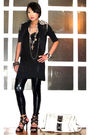 Black-trunk-show-blazer-black-topshop-top-black-random-leggings-silver-for
