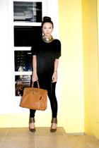 tawny Hermes bag