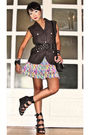 Gray-graxie-vest-black-zara-belt-purple-urban-juncture-skirt-black-steve-m