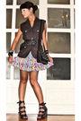 Gray-graxie-vest-black-zara-belt-purple-urban-juncture-skirt-black-steve-m