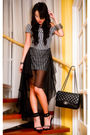 Glitterati-dress-black-chanel-bag-online-shoes-black-assorted-bracelet-s