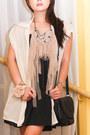Black-topshop-dress-black-basic-leather-zara-bag-black-topshop-wedges-beig