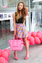 hot pink Celine bag