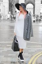 black floppy hat H&M hat - black platforms Topshop shoes