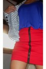 Purple-used-as-a-top-topshop-dress-striped-forever21-blazer-red-undernourish
