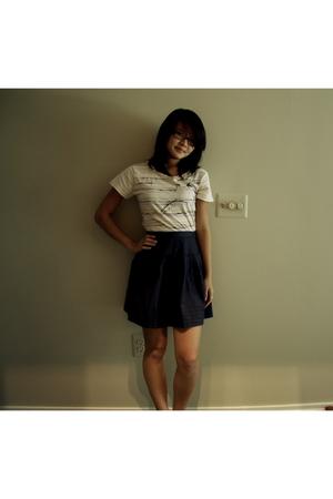 Urban Outfitters shirt - Silence  Noise skirt