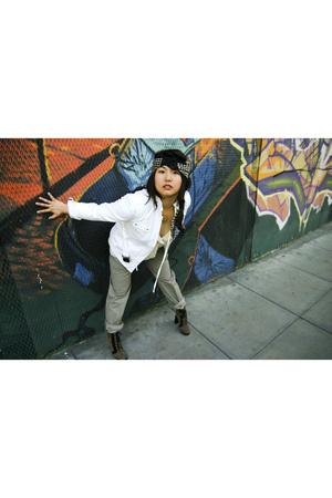 Zara pants - Zara jacket - Weston Wear blouse