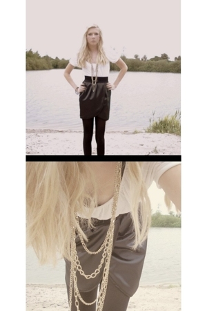 Urban Outfitters skirt - H&M necklace