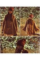 ruby red zipia hat - bronze zipia cape