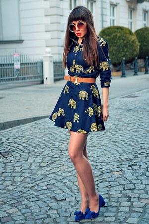 navy VIPme dress
