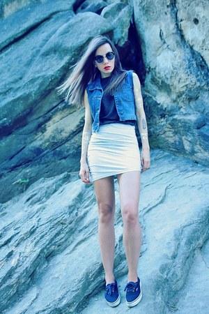 heather gray style moi skirt - flash tattoos style moi bracelet