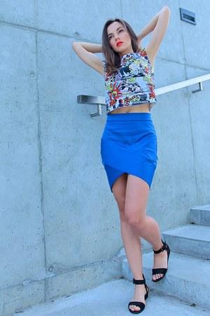 blue DressLink skirt