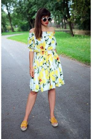 yellow VIPshop dress