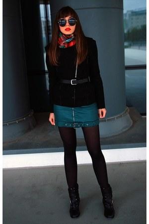 dark green StyleWe skirt