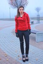red DressLink jacket