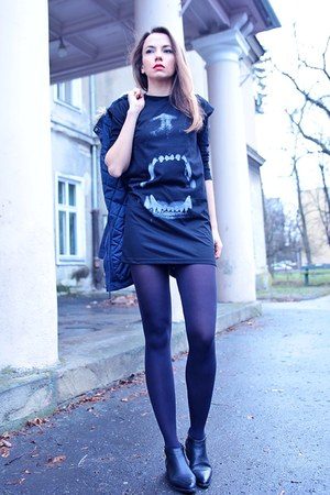 black noname dress
