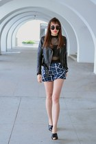 blue DressLink shorts