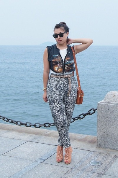 random shoes - Mulberry bag - rayban sunglasses - Zara belt