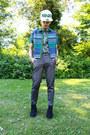 Kenzo-hat-topshop-shirt-topshop-heels-topshop-pants