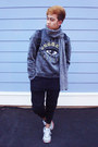 Black-forever-21-jeans-silver-kenzo-sweater
